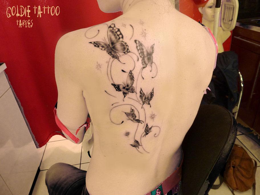 Animaux  Goldie Tattoo