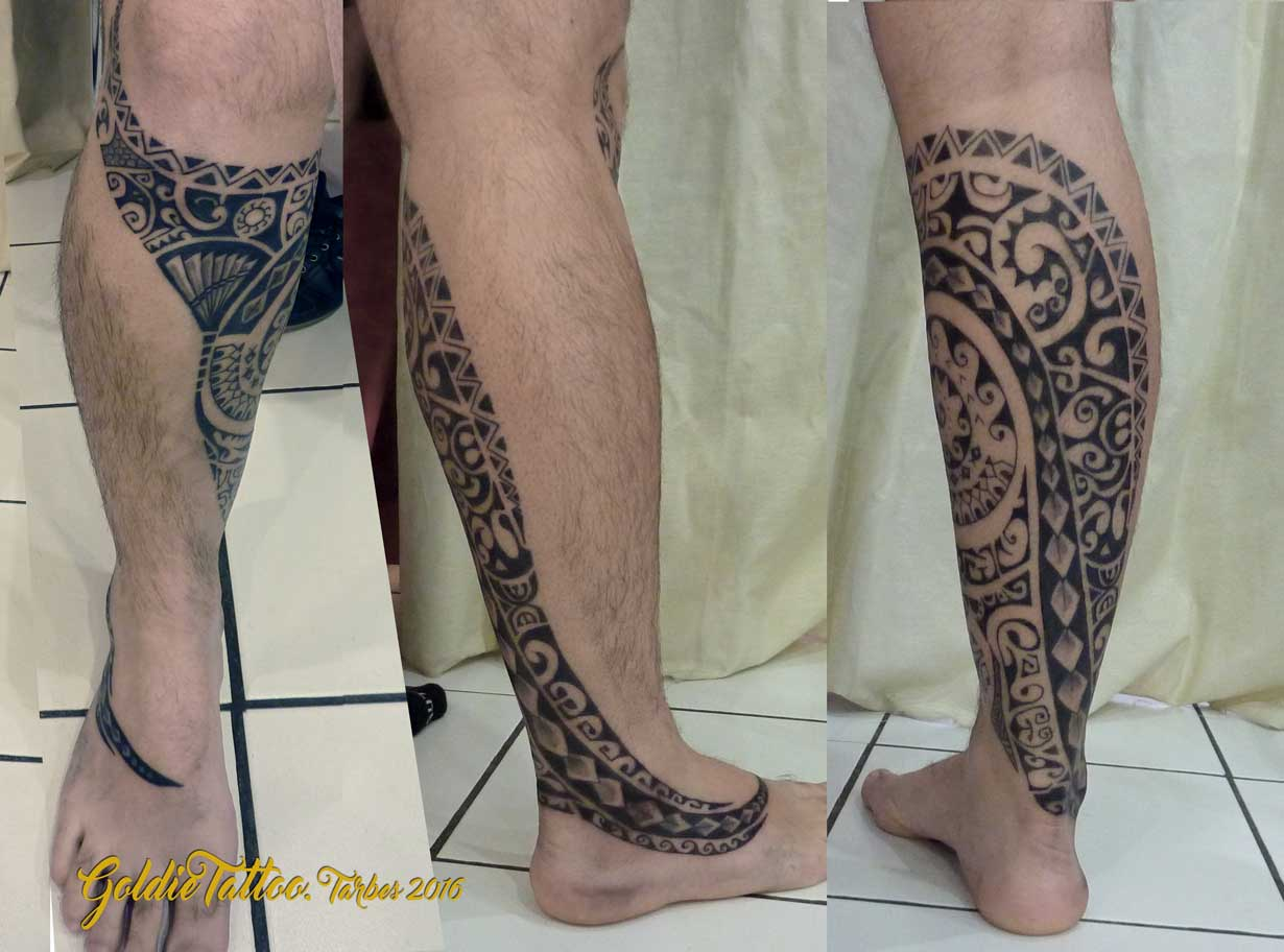 maori tribal goldie tattoo. Black Bedroom Furniture Sets. Home Design Ideas